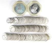 Washington Silver Quarters (106), 2 Ogilvies