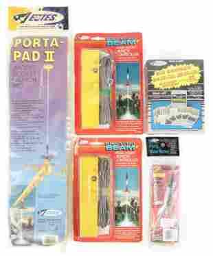 Assorted Estes Model Rocket Supplies