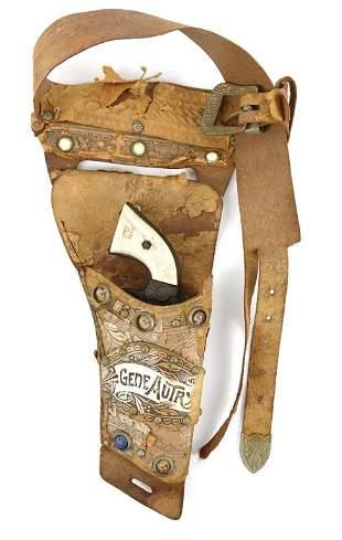 Gene Autrey Child's Toy Gun & Holster / Belt