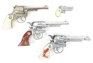 Four Vintage Child's Cap & Derringer Style Guns