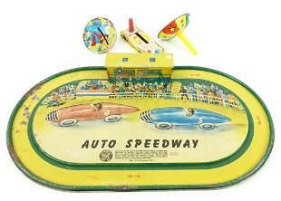 Vintage Auto Speedway Game (Auto Toy Co)