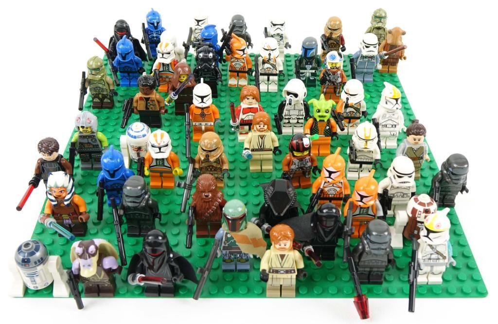 Star Wars Lego Figures!