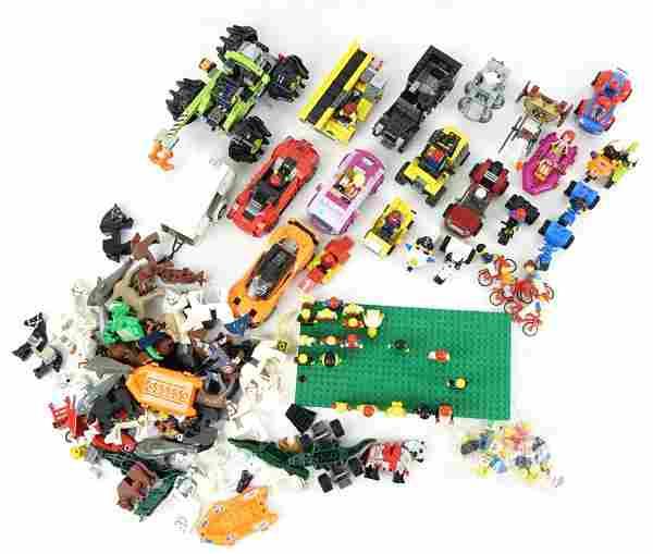Vintage 1970s Lego & Newer Figures!