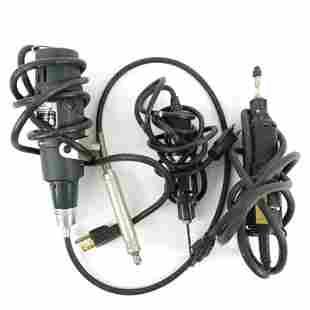 3 Dremel Moto-Tools