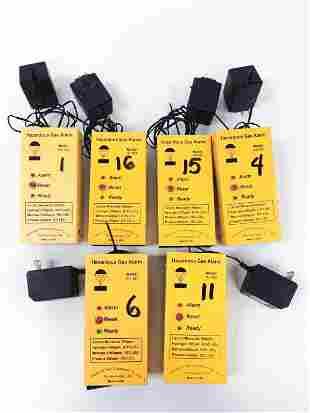 Hazardous Gas Alarms (6)