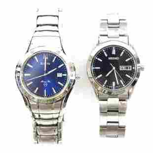 Bulova Marine Star & Seiko Watches (2)