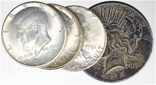 Eclectic Silver Coin Lot