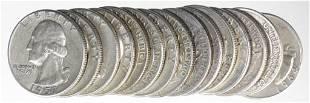 Washington Silver Quarters (15)