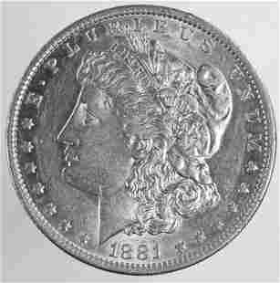 1881-o Morgan Silver Dollar (Better Date?)