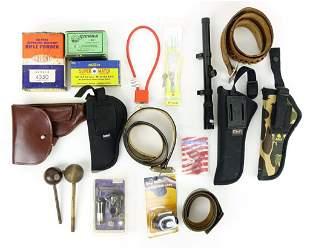 Gun Belts / Holsters / Gun Locks