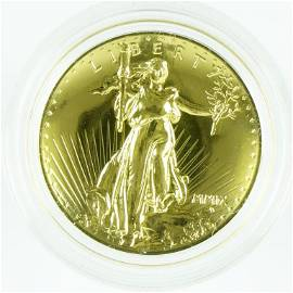 2009-w Ultra High Relief $20 Gold Double Eagle
