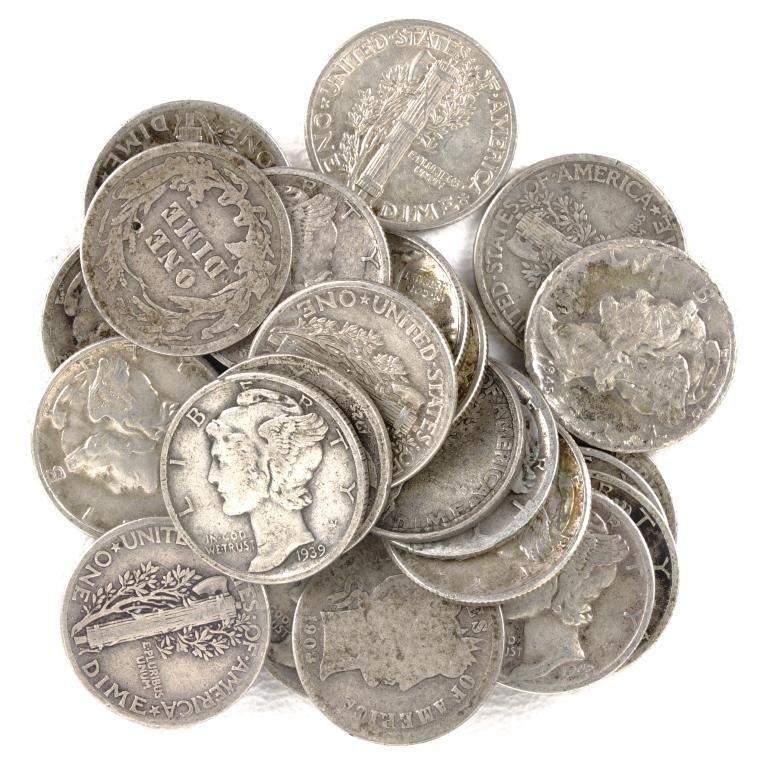 Silver Dimes (25)
