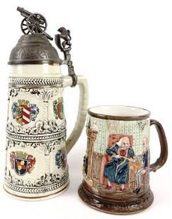 Ceramic Stein & Mug