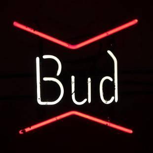 Bud Neon Sign