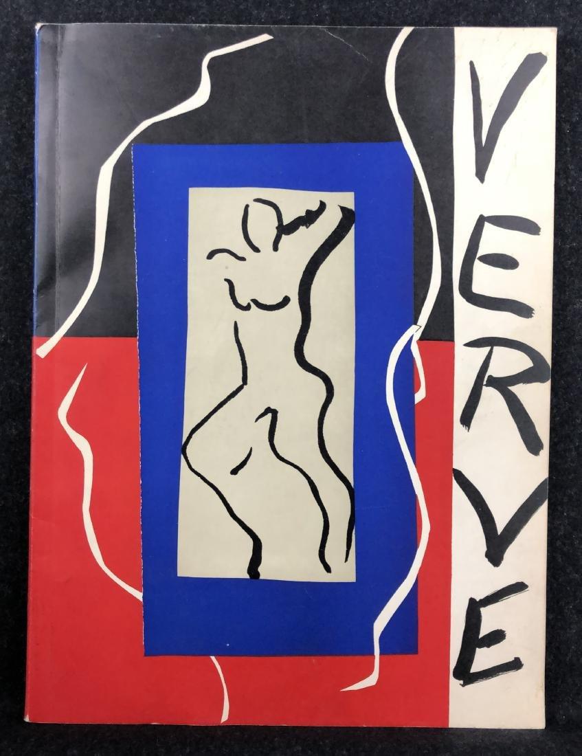 Verve, Vol I, No. 1, 1937, Matisse, Leger, Miro, Bores