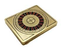 Alfred Dunhill 18K Gold Roulette Cigarette Case