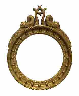 Rococo Deco Style Dolphin Hall Mirror
