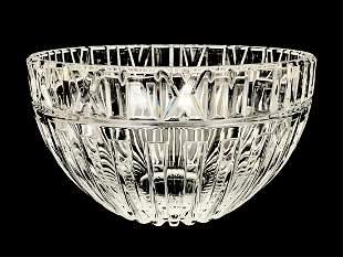 "Tiffany & Co. ""Atlas"" Crystal Punch Bowl"