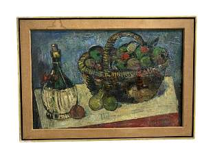 Max Weber Still Life Oil Painting on Canvas
