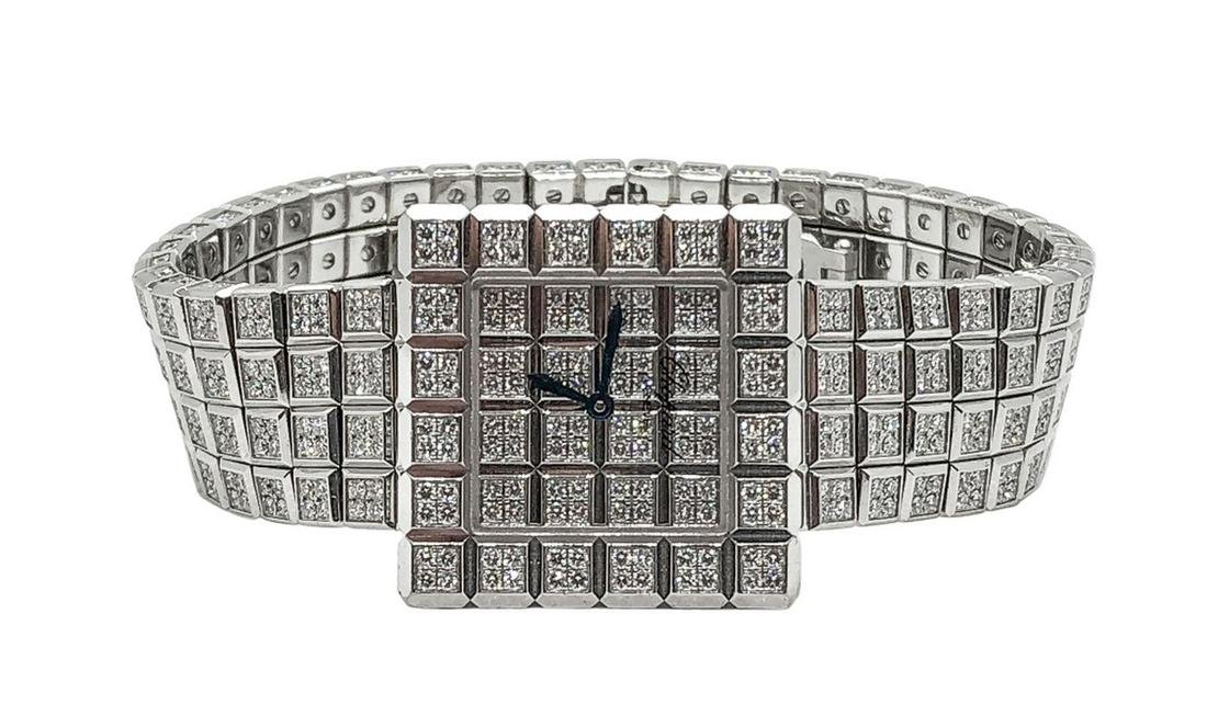 Chopard De Grisogono Ice Cube 18K Diamond Watch