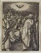 Albrecht Durer Original Engraving on Paper