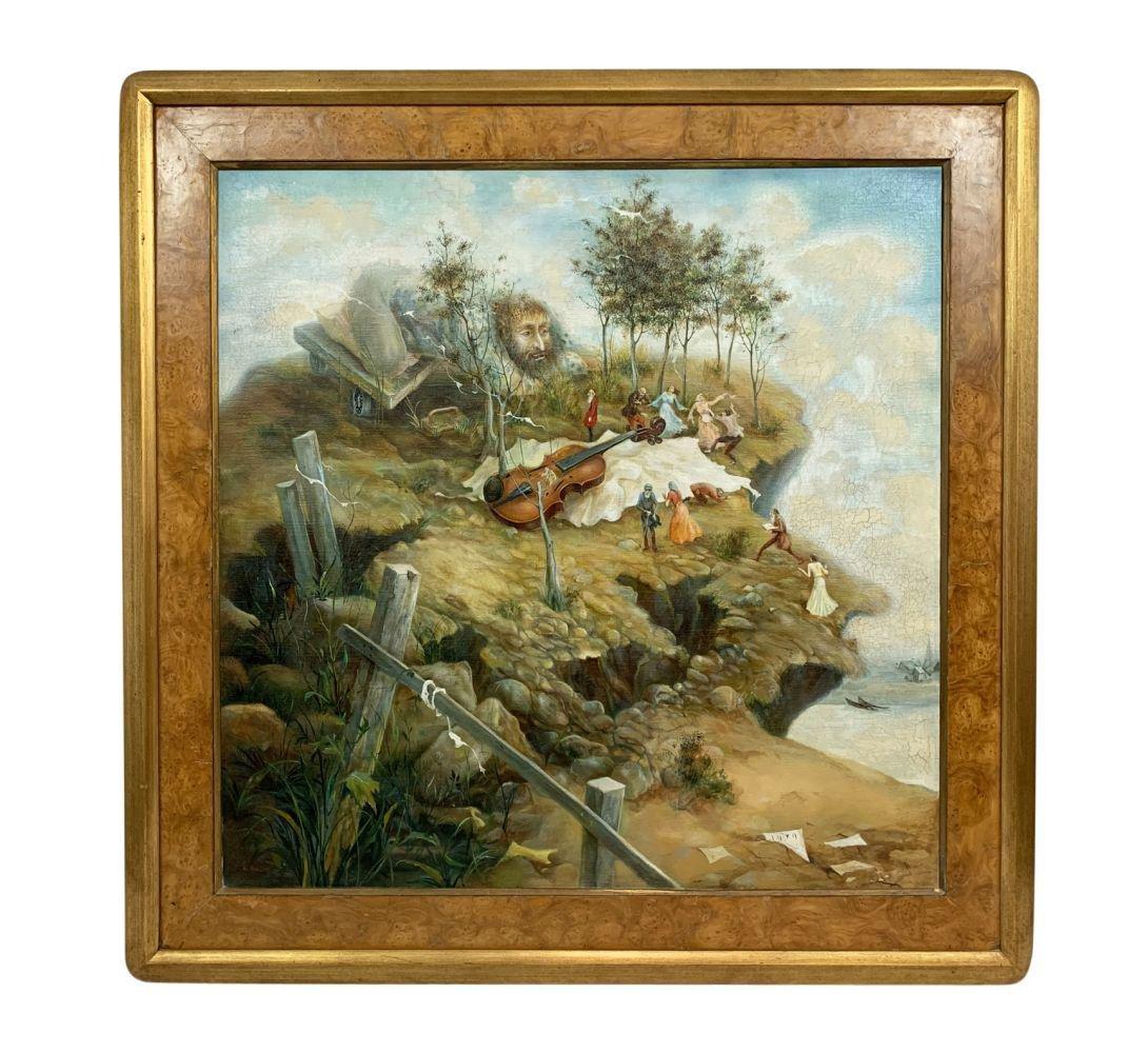 Vladimir Ryklin Russian Fantasy Oil Painting