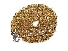 Baraka 18K Gold 55mm Link Necklace