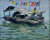 Paul Arsenault Seascape Oil Painting