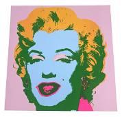 Sunday B. Morning Marilyn Serigraph After Warhol