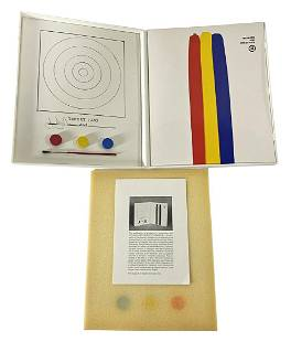 """Jasper Johns """"Target, 1970"""" Lithograph In Colors"""