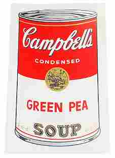 Sunday B. Morning Soup Cans Serigraph After Warhol