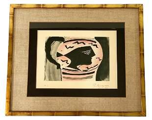 Georges Braque Aquatint & Etching Pencil Signed