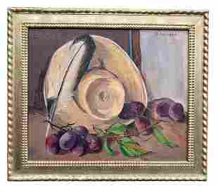 Gearge A. Swanson Still Life Oil Painting