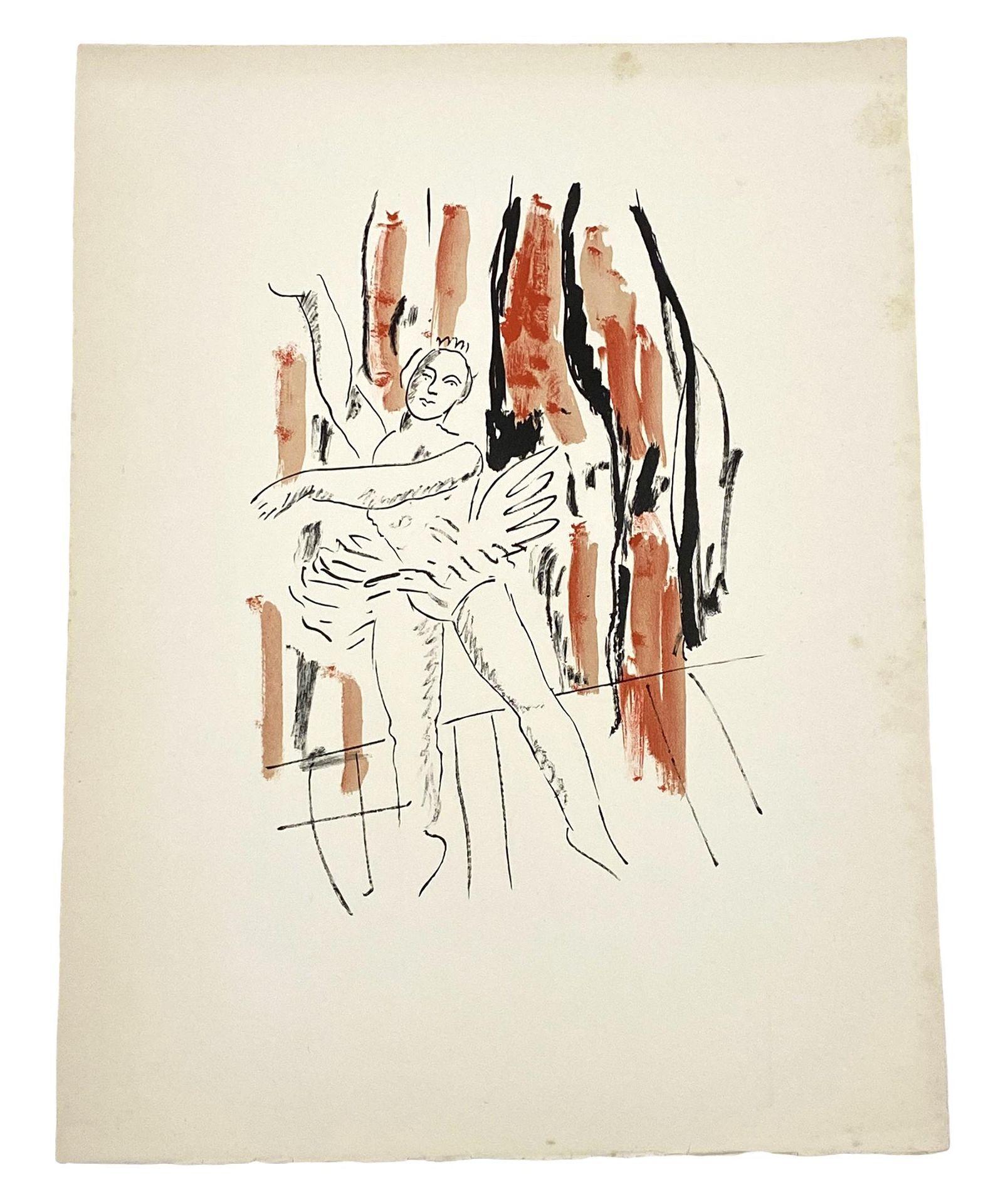"""Fernand Leger """"La Danseuse"""" Color Lithograph"""