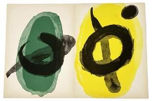 Joan Miro Derriere le Miroir Lithograph In Colours