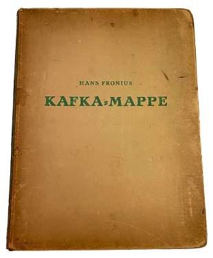 Hans Fronius Kafka Portfolio of (10) Lithographs