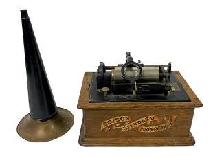 Thomas A. Edison Standard Phonograph