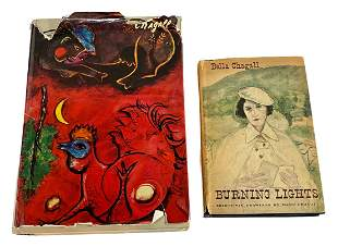 """Marc Chagall & """"Burning Lights"""" by Bella Chagall Books"""