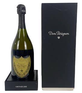 2000 Dom Perignon Champagne w/Box & Cert (Sealed)