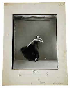 """Richard Avedon """"Harper's Bazaar, 1956"""" Photograph"""