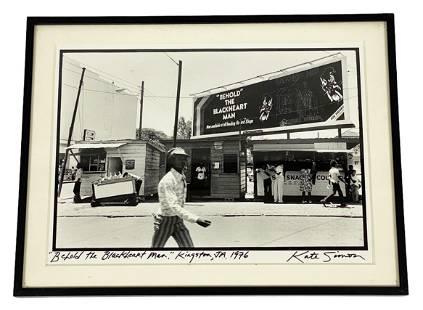 "Kate Simon ""Behold The Blackheart Man"" Photograph"
