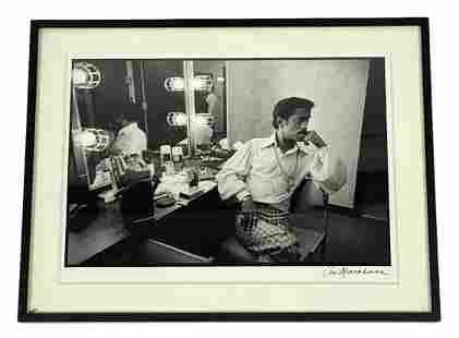 "Jim Marshall ""Sammy Davis Jr."" Signed Photograph"