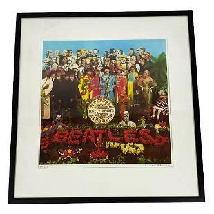 "Peter Blake The Beatles ""Sgt. Peppers"" Screenprint"