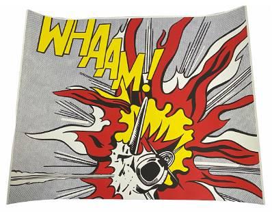 """Roy Lichtenstein """"Whaam!"""" Offset Lithograph Poster"""