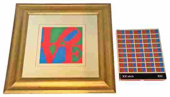 """Robert Indiana """"LOVE"""" Offset Lithograph"""