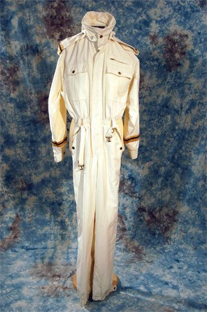 1: Abba. Performance white jumpsuit.