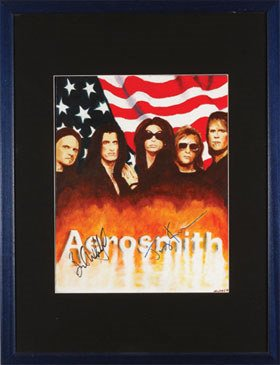 2: Aerosmith. A beautiful original painting
