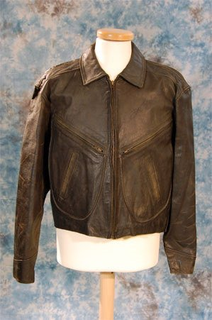 8: Joe Strummer – The Clash. A black leather stage worn