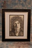 18: Brian May -Queen. An original pen & pencil portrait