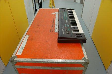 33: Paul Weller - Style Council. Yamaha DX7 keyboard